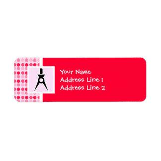 Cute Architect Return Address Label