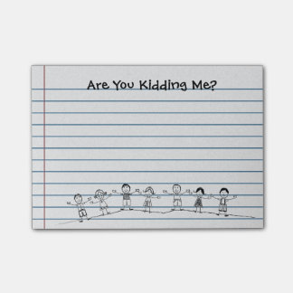 Cute Are You Kidding Me? Teacher Post-its Post-it Notes