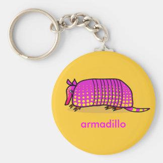 Cute Armadillo Keychain