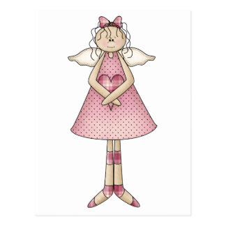 Cute as a Bug · Angel Postcard