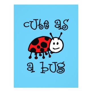 Cute as a Bug 21.5 Cm X 28 Cm Flyer