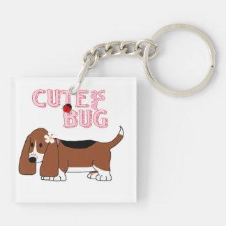 Cute as a Bug Keychain