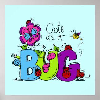 Cute as a Bug Print
