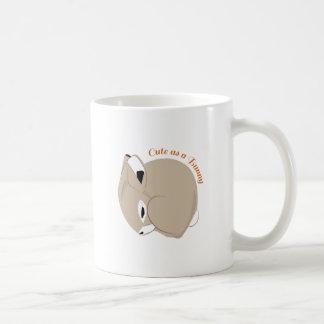 Cute As A Bunny Coffee Mugs