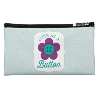 Cute as a Button Cosmetic Bag