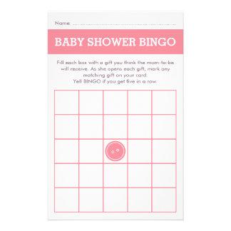 Cute as a Button (Pink) 14 Cm X 21.5 Cm Flyer