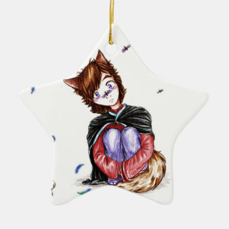 Cute as can be - star ornament