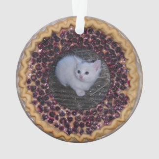 Cute as Pie Framed Photo Ornament