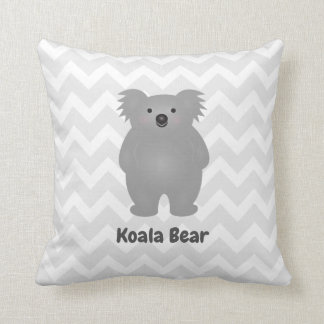 Cute Australia Baby Koala Bear Add Your Name Cushion