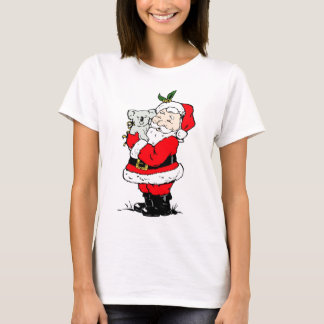 Cute Australian Christmas Santa with koala T-Shirt