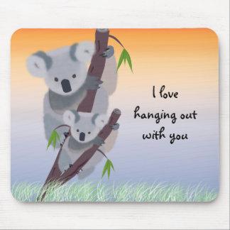 Cute Australian Koala Bear Mousepad