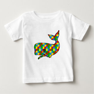 Cute Autism Puzzle Whate Tees