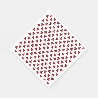 Cute Autumn Berry Paper Napkins