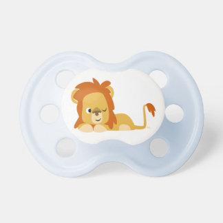 Cute Awake Cartoon Lion Pacifier