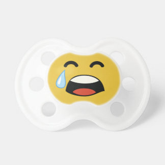 Cute aww don't cry emoji baby pacifiers