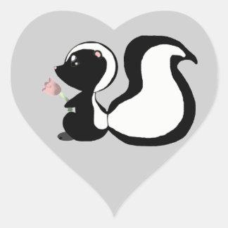 Cute Baby Animals Skunk Stickers/Envelope Seals