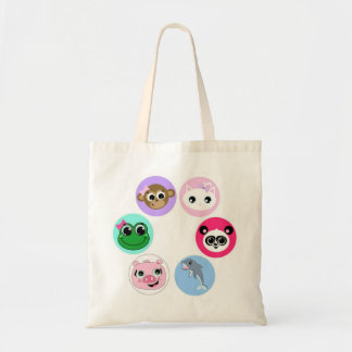 Cute Baby Animals Tote Bag
