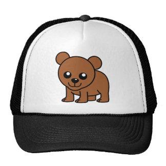Cute baby bear cartoon hats