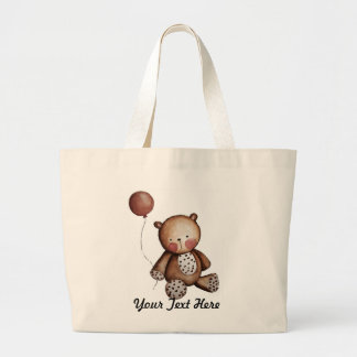 Cute Baby Bear with Balloon Bags
