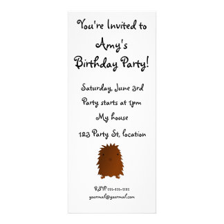 Cute baby bigfoot custom announcement