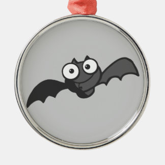 CUTE BABY BLACK BAT CARTOON FLYING HAPPY FUN CHRISTMAS ORNAMENT