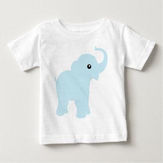 Cute baby blue elephant kids,  infant t-shirt