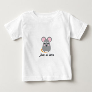 Cute baby bodysuit Chinese zodiac - 2008 rat mouse
