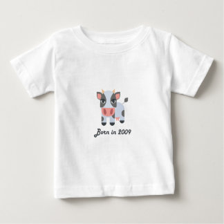 Cute baby bodysuit Chinese zodiac - 2009 ox cow