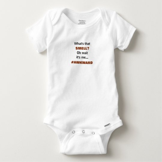 Cute Baby Bodysuit with What's That Smell?