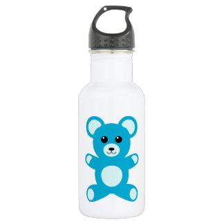 Cute Baby Boy Blue Teddy Bear 532 Ml Water Bottle