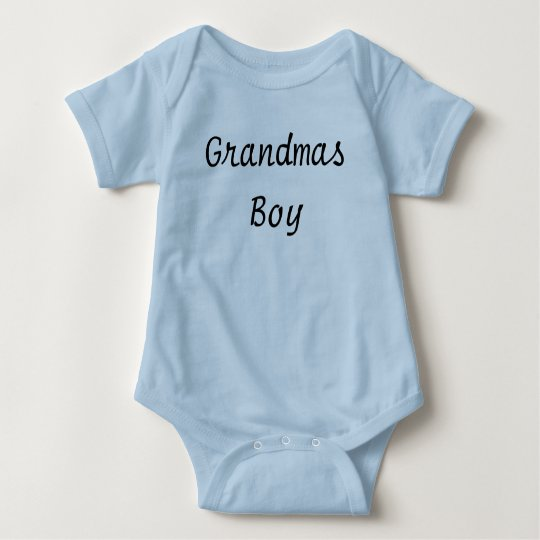 cute baby boy clothes Grandmas boy Infant outfit