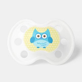 Cute Baby Boy Owl Pacifier