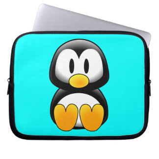 Cute Baby Cartoon Penguin Laptop Sleeve