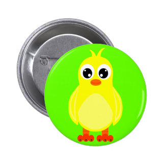 Cute Baby Chick Cartoon 6 Cm Round Badge