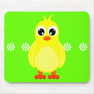 Cute Baby Chick Cartoon Mouse Mat