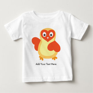 Cute Baby Chick with Custom Text Baby T-Shirt