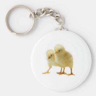 Cute Baby Chicken Keychain