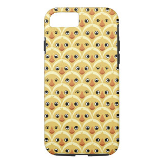 Cute Baby Chickens Pattern iPhone Case