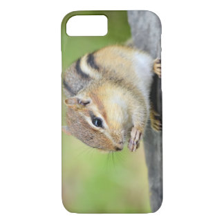 Cute Baby Chipmunk Snacking iPhone 7 Case