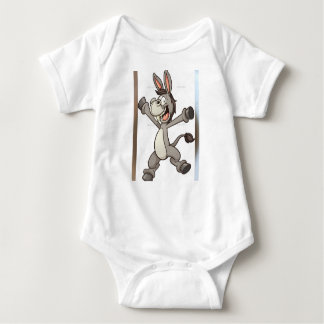 cute baby clothes donkey design baby bodysuit