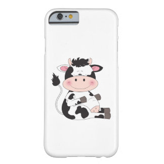 Cute Baby Cow Cartoon Barely There iPhone 6 Case
