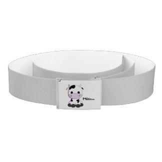 Cute baby cow cartoon kids belt
