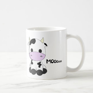 Cute baby cow cartoon kids coffee mug