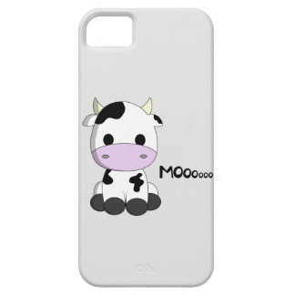 Cute baby cow cartoon kids iPhone 5 cases