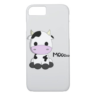 Cute baby cow cartoon kids iPhone 7 case