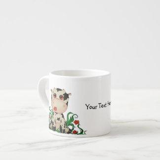 Cute Baby Cow Espresso Mug