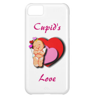 Cute Baby Cupid With Hearts iPhone 5C Covers