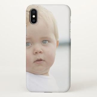 Cute Baby Custom iPhone X Matte Case