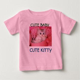 cute baby cute kitty baby shirt