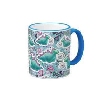 Cute Baby Dinosaurs Pattern Coffee Mug